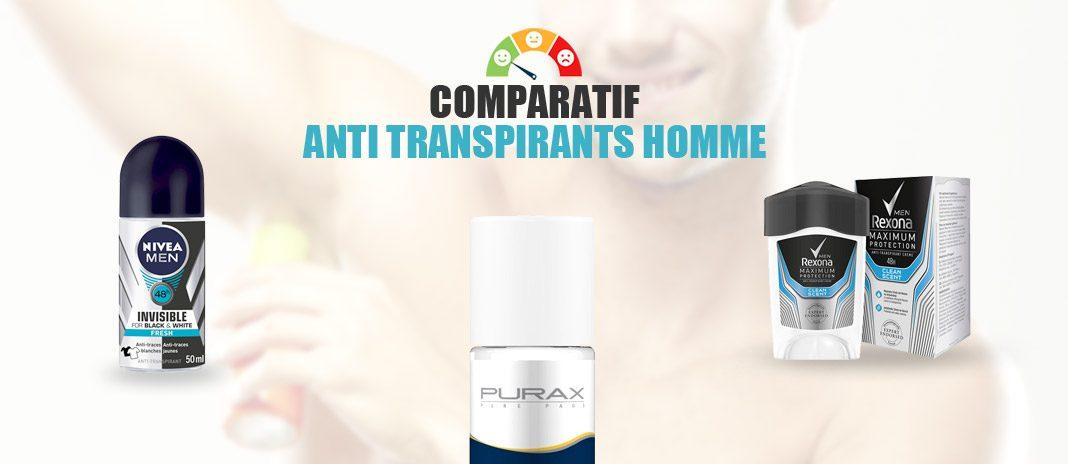 comparatif anti-transpirant