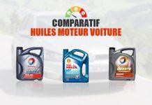 comparatif huiles moteur