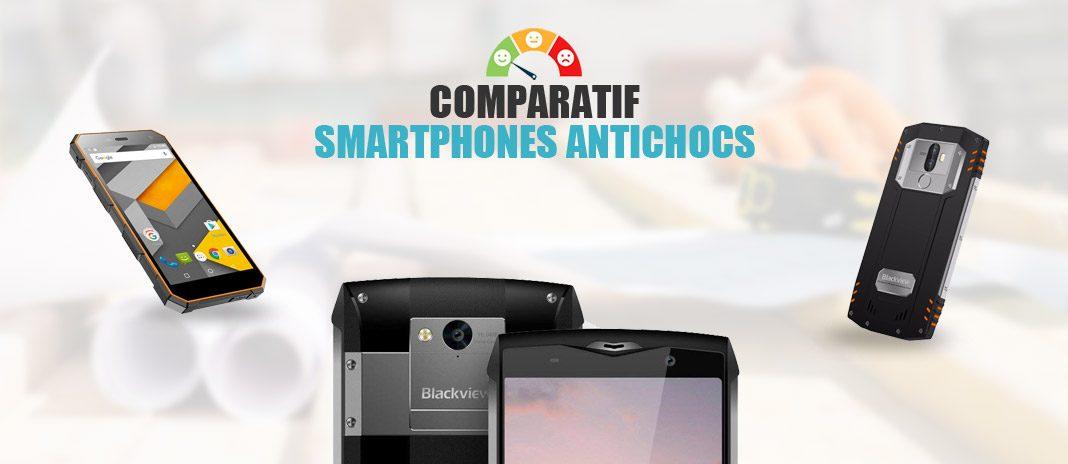 comparatif smartphone antichoc