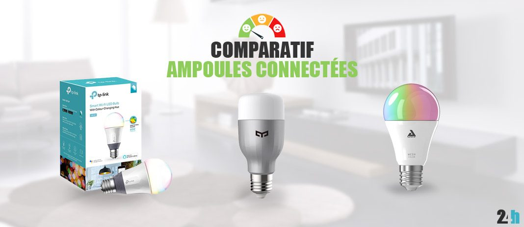 comparatif ampoules connectees