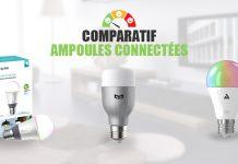 comparatif ampoules connectees