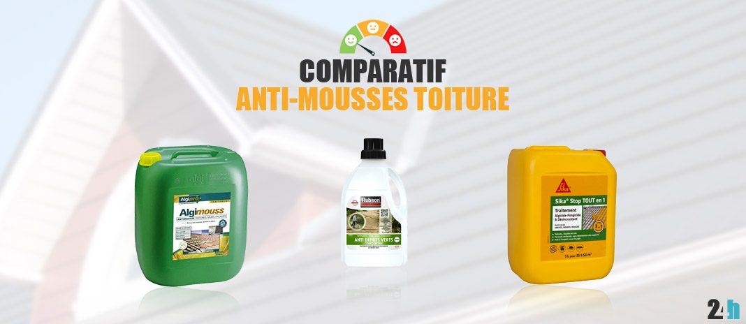 comparatif anti-mousse toiture