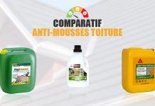 comparatif antimousse toiture