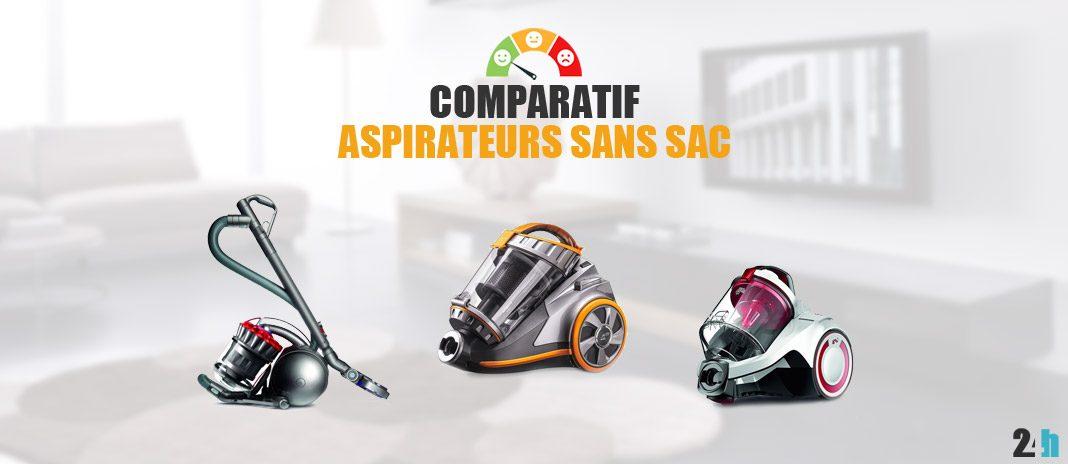 comparatif aspirateur sans sac