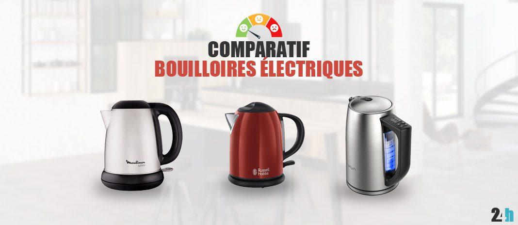 comparatif bouilloires electriques