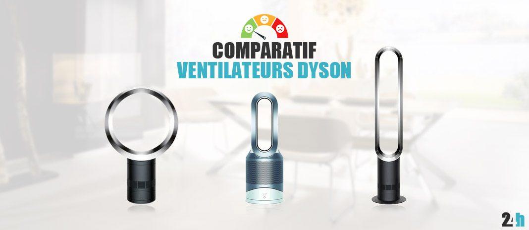 comparatif dyson ventilateurs