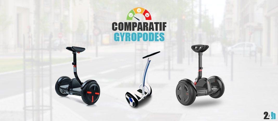 comparatif gyropodes