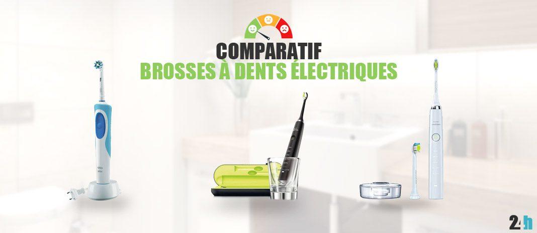 comparatif brosse a dents electriques