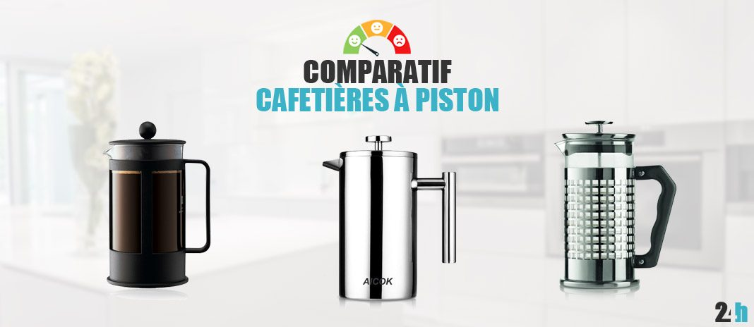 comparatif cafetieres à piston