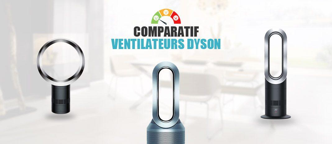 comparatif ventilateurs dyson