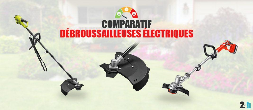 comparatif debroussailleuses electriques