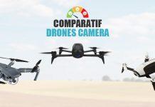 comparatif drones camera