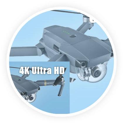 qualité image drone