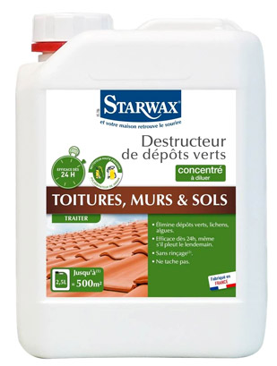 solution toiture starwax