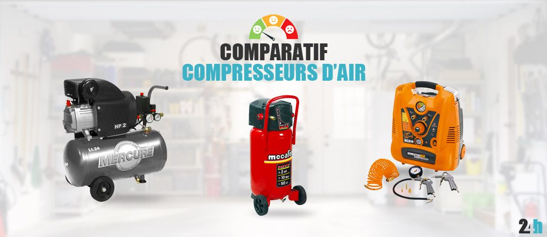 Comparatif compresseurs d'air