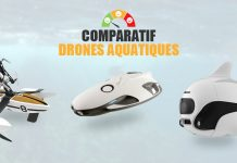 comparatif drones aquatiques