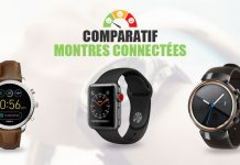 comparatif montres connectees
