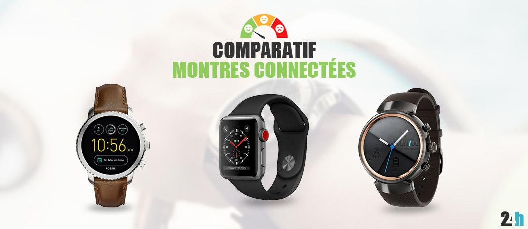 0e4e30165387b Montre Connectée → Avis, Comparatif, Laquelle choisir en 2018 ?