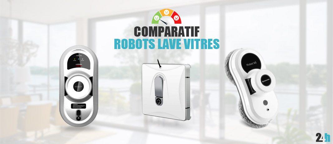 comparatif robots lave vitre