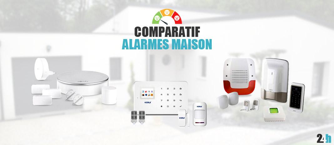 Meilleure Alarme Maison → Comparatif  Meilleurs Prix 10