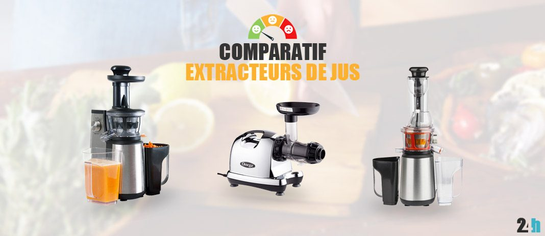 comparatif extracteur jus