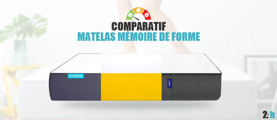matelas m moire de forme guide d 39 achat avis et comparatif 2018. Black Bedroom Furniture Sets. Home Design Ideas