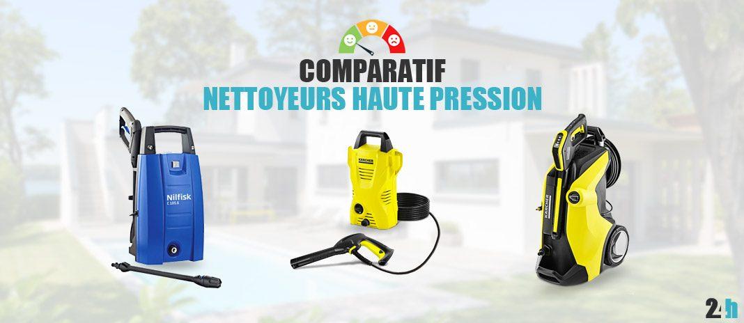 comparatif nettoyeurs haute pression