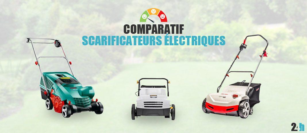 comparatif scarificateurs electriques