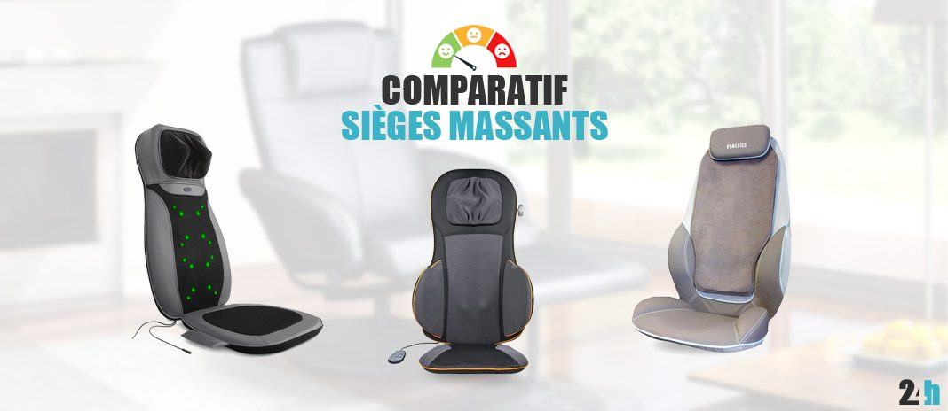 comparatif sieges massants