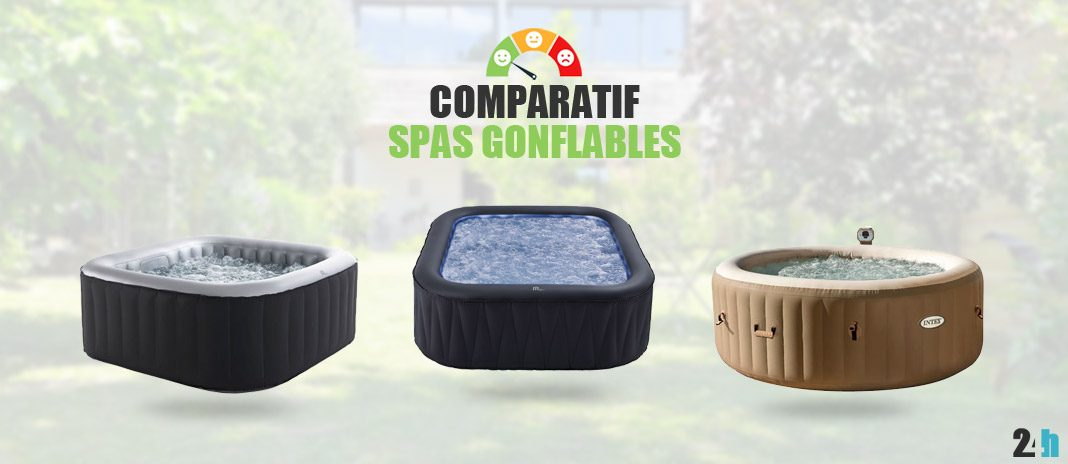 comparatif spas gonflables