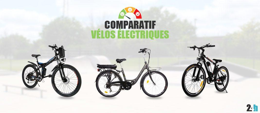 comparatif velos electriques