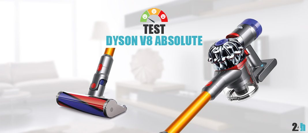 Test Dyson V8 Absolute