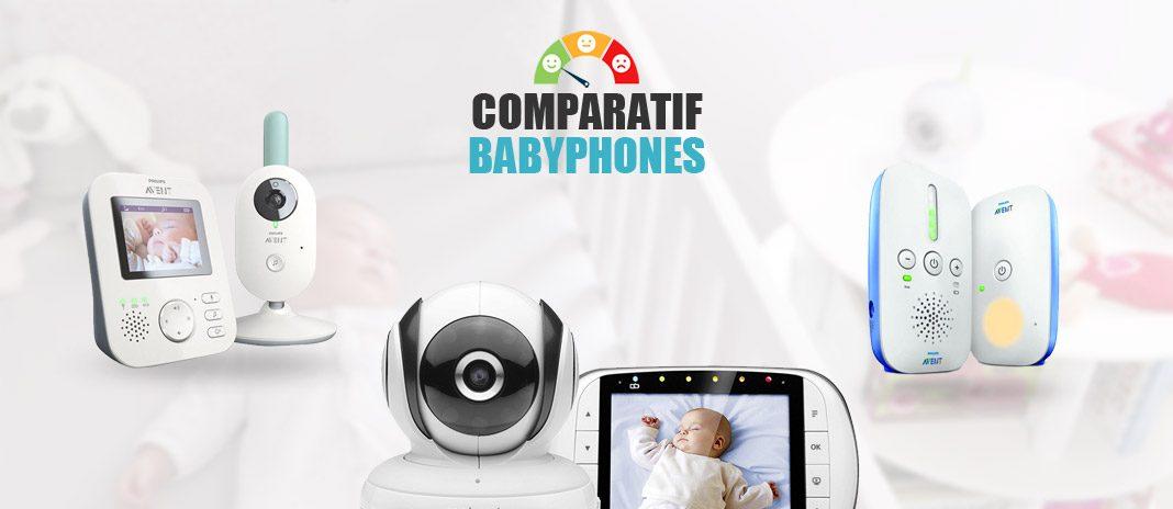 comparatif babyphones
