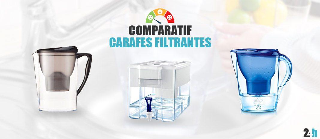 comparatif carafes filtrantes