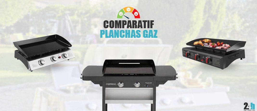 comparatif planchas gaz