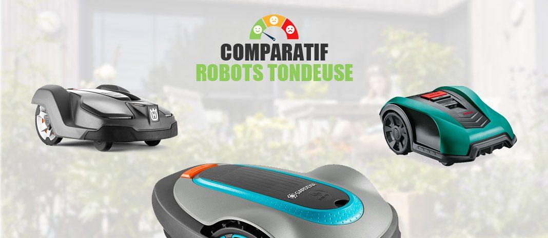 comparatif robots tondeuse