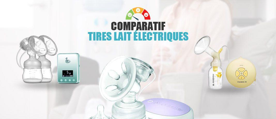 comparatif tire-lait électrique