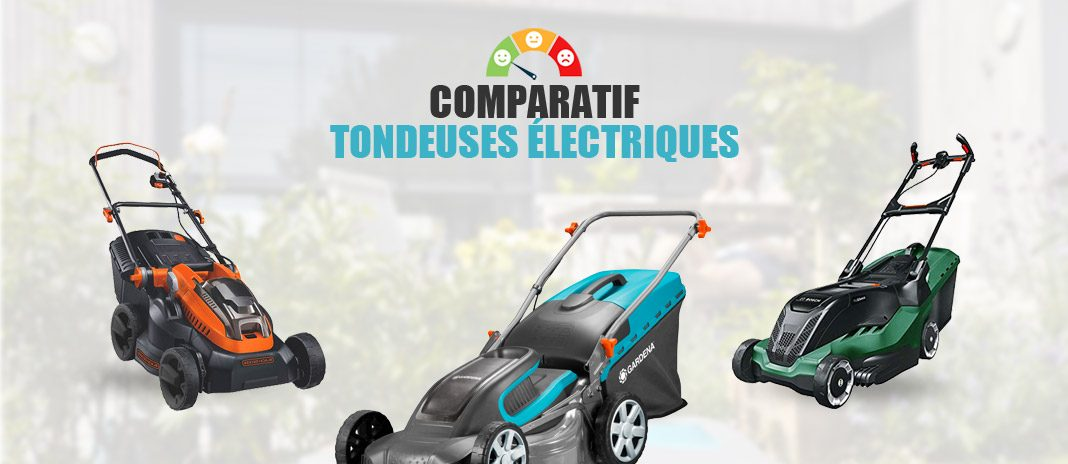 comparatif tondeuses gazon electriques