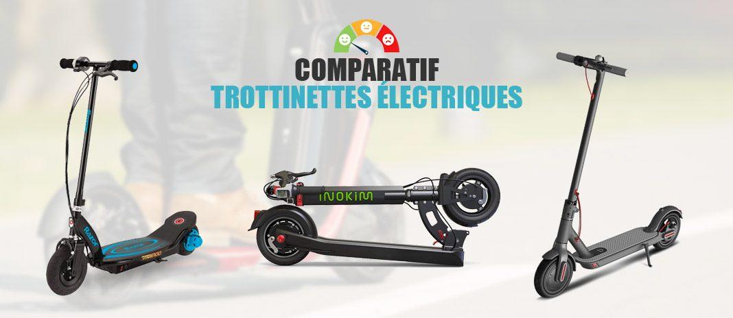 comparatif trottinette electrique