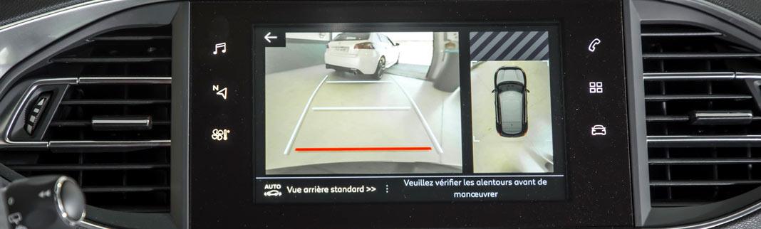 ecran controle radar auto