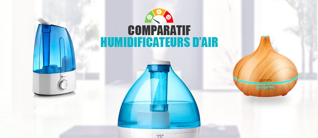 comparatif humidificateur air