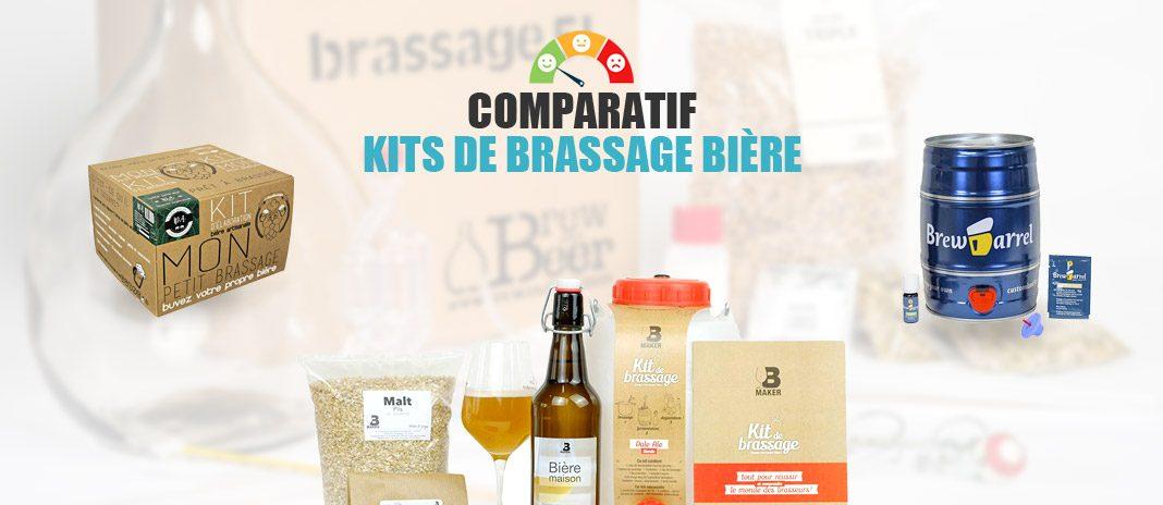 comparatif kits brassage biere