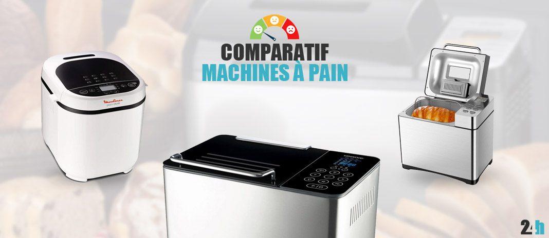 comparatif machines a pain