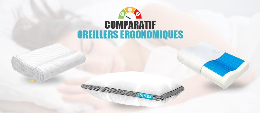 comparatif oreillers ergonomiques