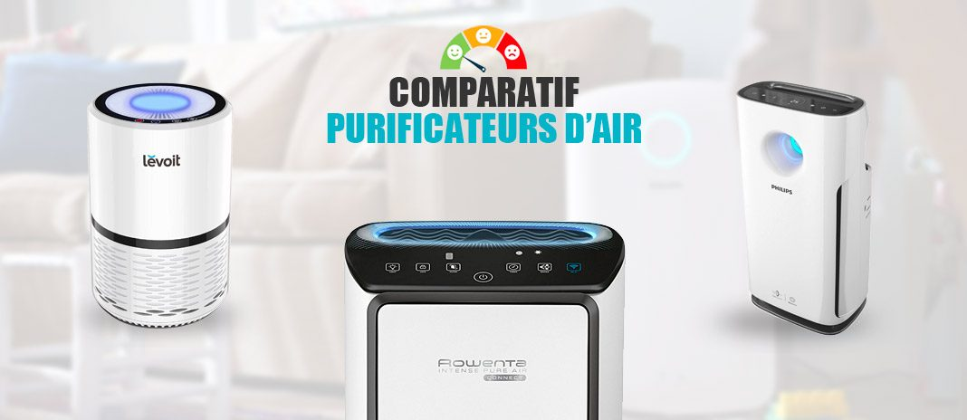 comparatif purificateurs d'air