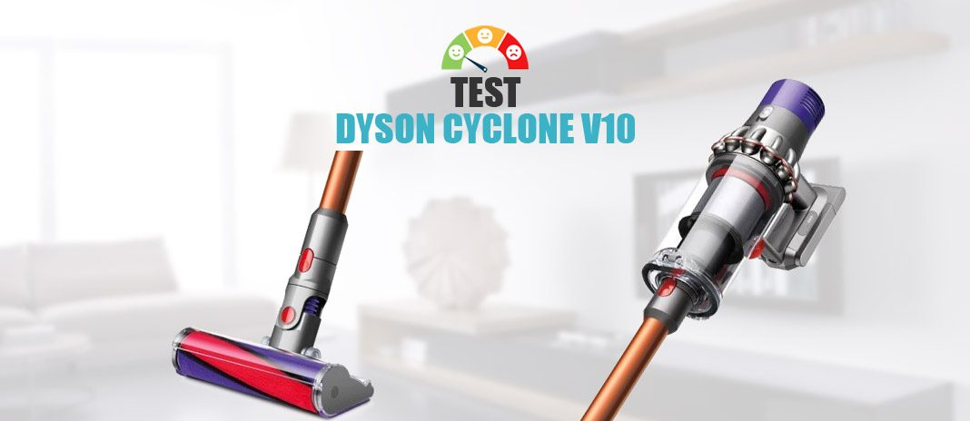 test dyson v10