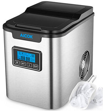 Aicok Machine Glacons Silver