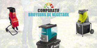 comparatif broyeurs vegetaux electriques