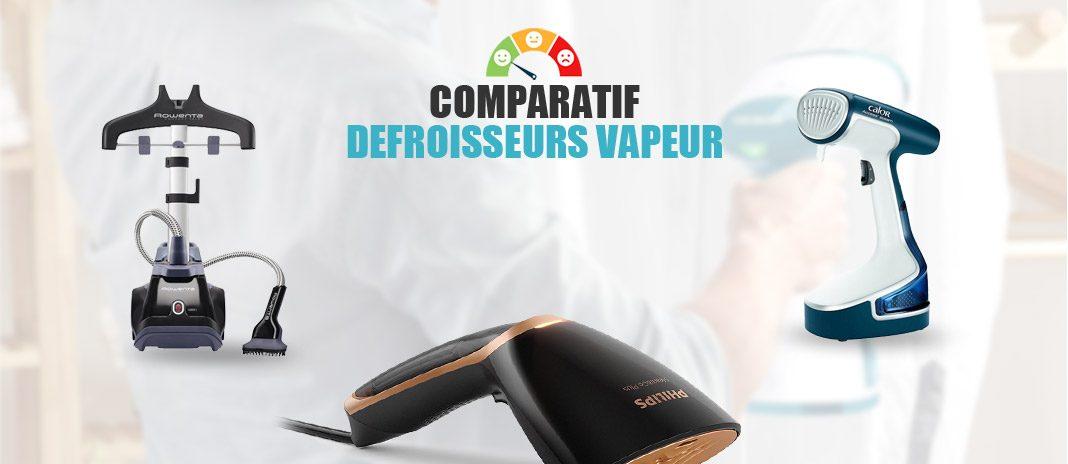 comparatif des defroisseurs vapeur