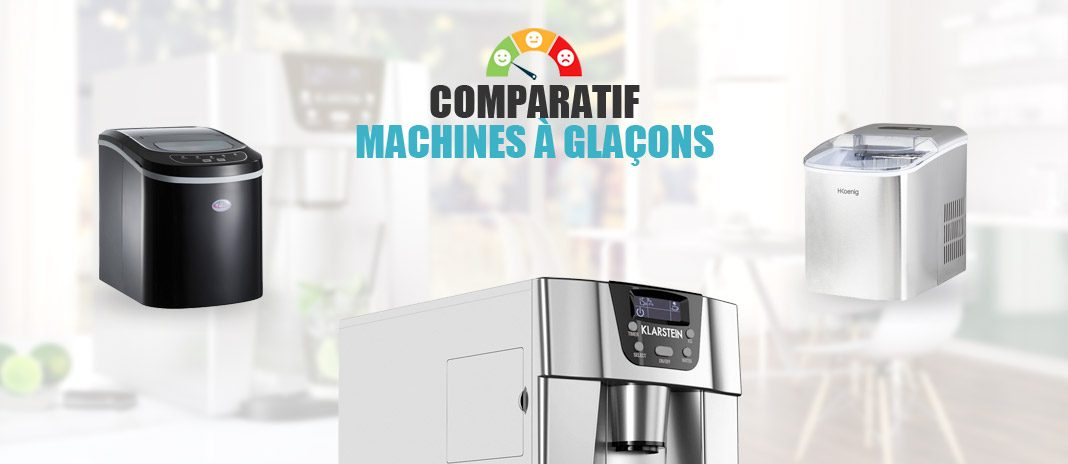 comparatif machines a glacons